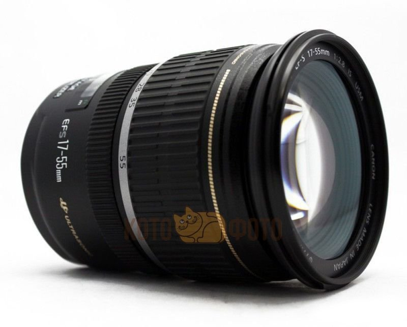 Объектив Canon EF-S 17-55 F 2.8 IS USM объектив canon ef s is stm 1620c005 18 55мм f 4 5 6 черный