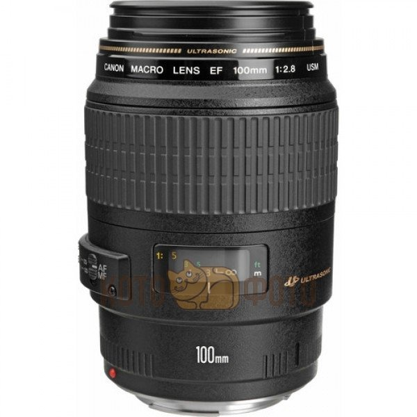 Объектив Canon EF 100 f 2.8 Macro USM объектив canon ef 24mm f 2 8 is usm черный