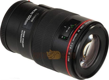 Объектив Canon EF 100 f 2.8L Macro IS USM