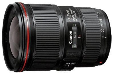 Объектив Canon EF 16-35mm f/4L IS USM - фото 1