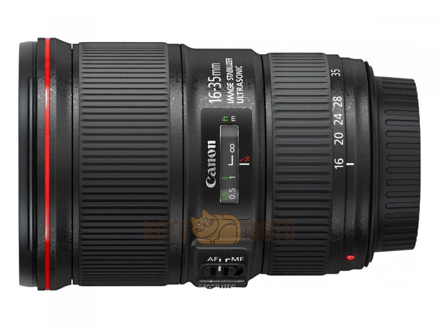 Объектив Canon EF 16-35mm f/4L IS USM объектив canon ef 35mm f 2 is usm