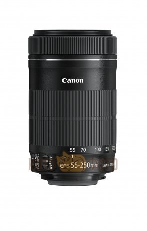 Объектив Canon EF-S 55-250mm f;4-5.6 IS STM