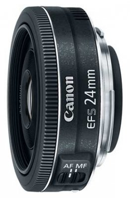 Объектив Canon EF-S 24mm f;2.8 STM