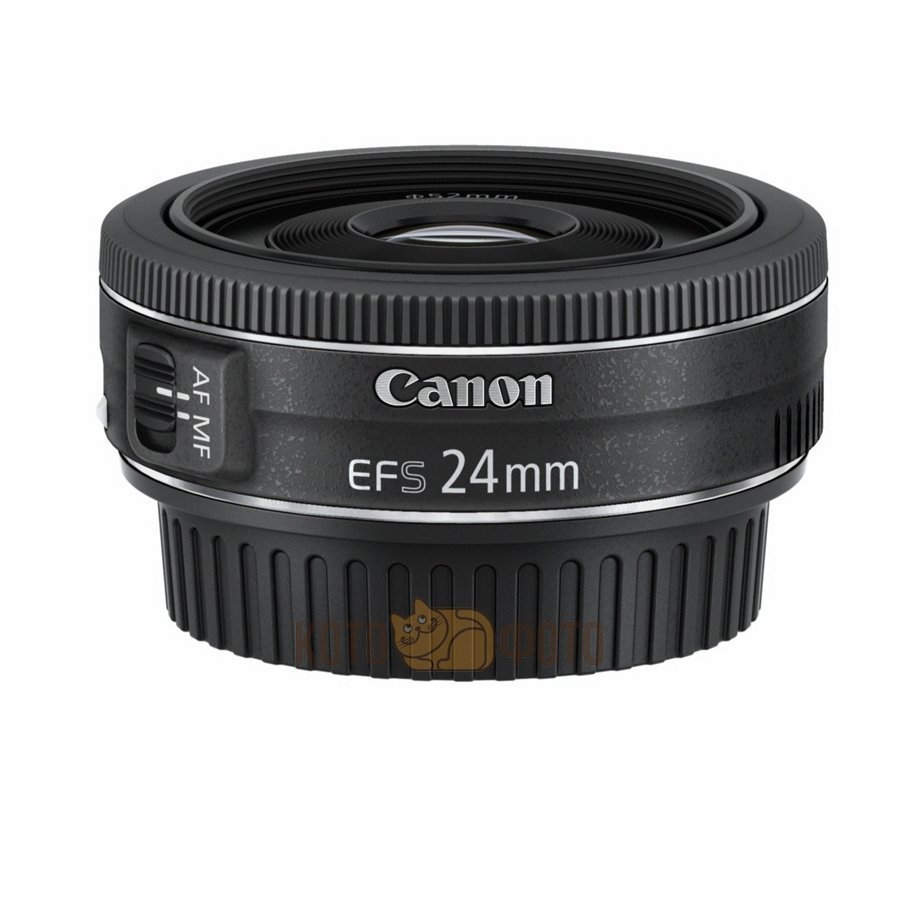 Объектив Canon EF-S 24mm f:2.8 STM объектив canon ef 24mm f 2 8 is usm черный