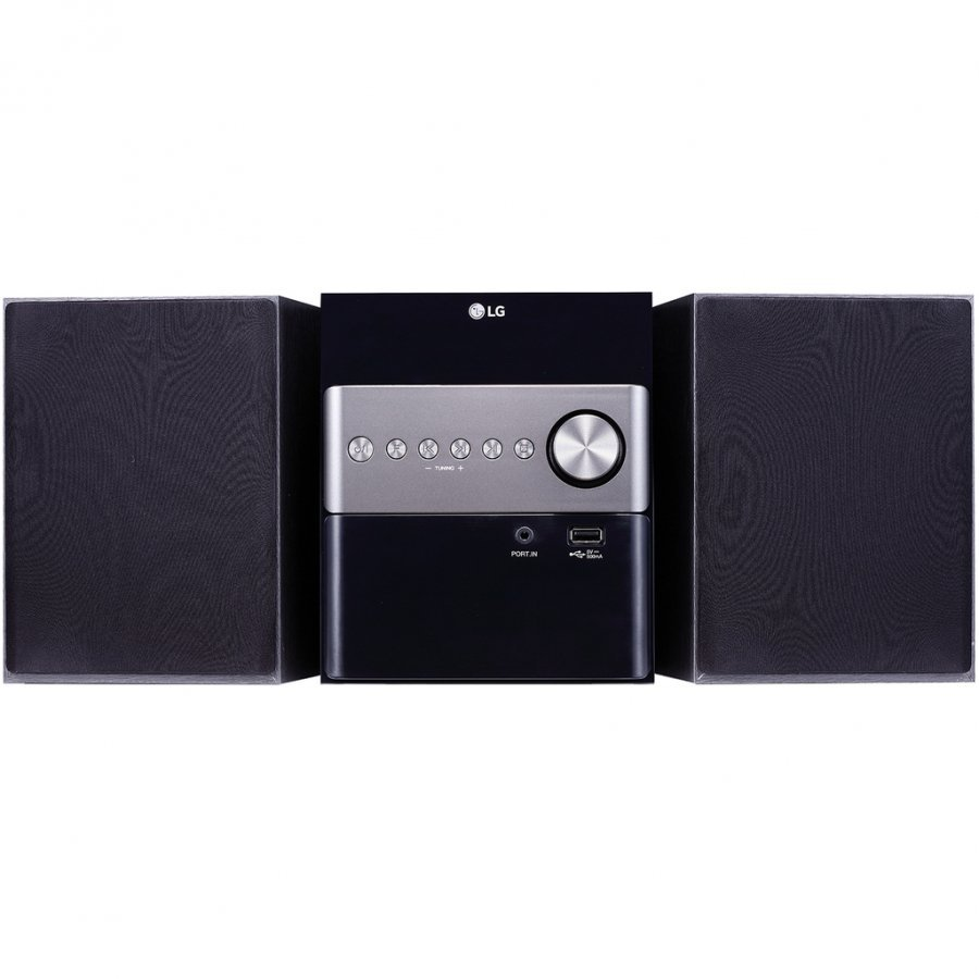Фото - Микросистема LG CM1560 черный 10Вт/CD/CDRW/FM/USB/BT blast bah 401 bt