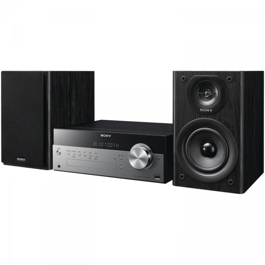 Микросистема Sony CMT-SBT100 черный 40Вт/CD/CDRW/FM/USB/BT цена