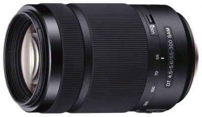 Sony DT 55-300mm f 4.5-5.6 (SAL-55300)