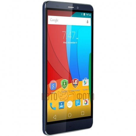 Смартфон Prestigio Grace S5 LTE 55551 Duo Blue