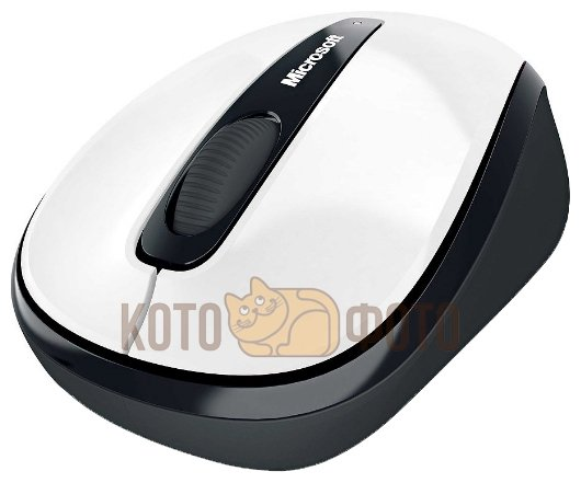 Мышь Microsoft Wireless Mobile Mouse 3500 White (GMF-00294)