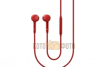 Гарнитура проводная Samsung EO-EG920L In-Ear-Fit Red samsung in ear fit eo eg920lregru red