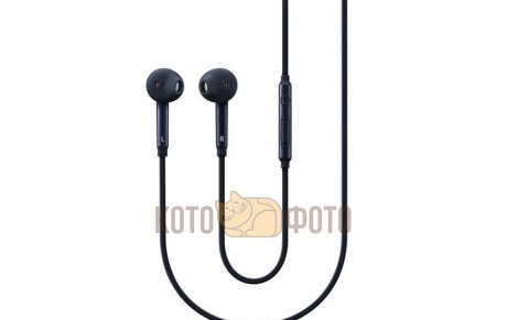 Гарнитура проводная Samsung EO-EG920L In-Ear-Fit Black samsung in ear fit eo eg920lregru red