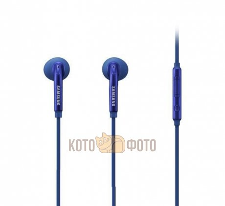 Гарнитура проводная Samsung EO-EG920L In-Ear-Fit Blue samsung in ear fit eo eg920lwegru white