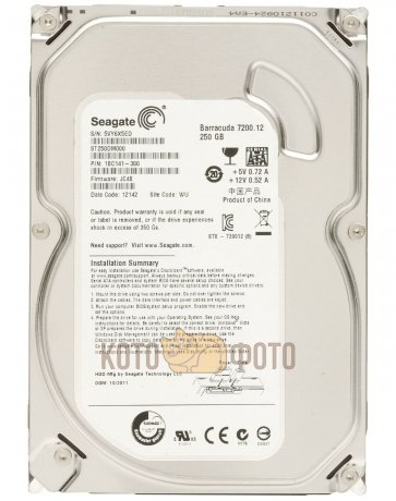 Жесткий диск Seagate Original SATA-III 250Gb ST250DM000 Desktop (7200rpm) 16Mb 3.5
