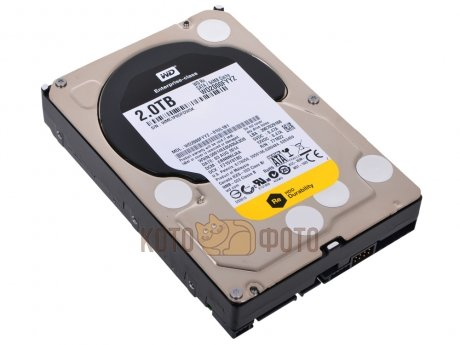 Жесткий диск WD Original SATA-III 2Tb WD2000FYYZ RE (7200rpm) 64Mb 3.5