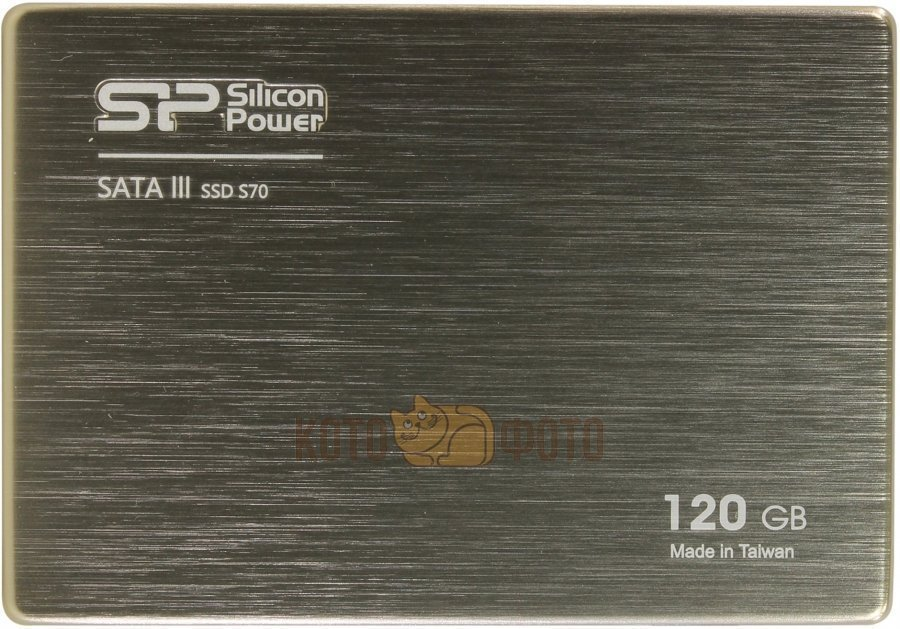 Накопитель SSD Silicon Power SATA III 120Gb SP120GBSS3S70S25 Slim S70 2.5 дюйм.