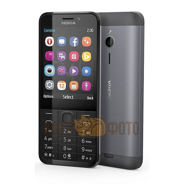 Мобильный телефон Nokia 230 DS Black nokia 230 ds dark silver