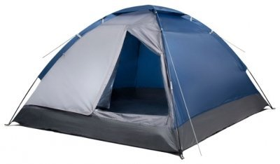 Палатка Trek Planet Lite Dome 4 синий/серый