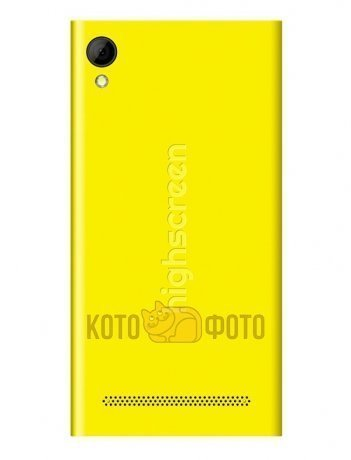 Смартфон Highscreen Pure F Yellow