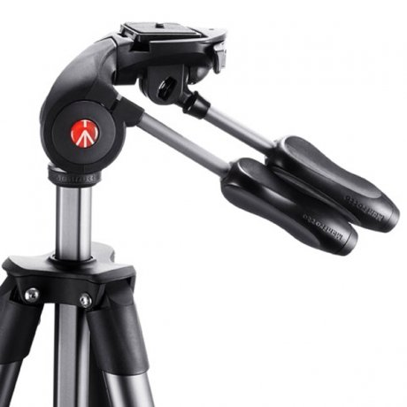 Фотография товара штатив Manfrotto Compact Advanced Black MKCOMPACTADV-BK (141828)