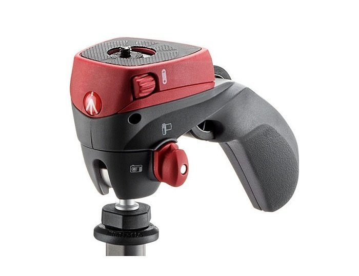 Фото - Штатив Manfrotto Compact Action Red MKCOMPACTACN-RD видео
