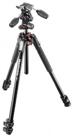 Фотография товара штатив Manfrotto 190 ALU 3-S KIT 3W HEAD MK190XPRO3-3W (142044)