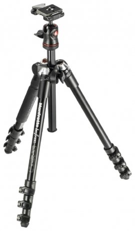 Фотография товара штатив Manfrotto Befree One MKBFR1A4B-BH Black (142046)