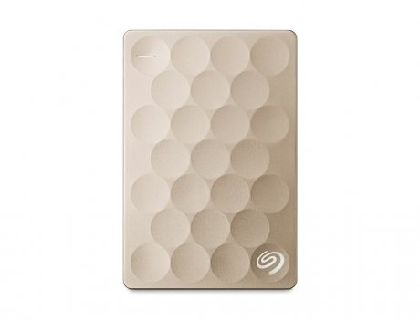 Купить Внешний HDD Seagate Backup Plus Ultra Slim 2Tb Gold (STEH2000201)