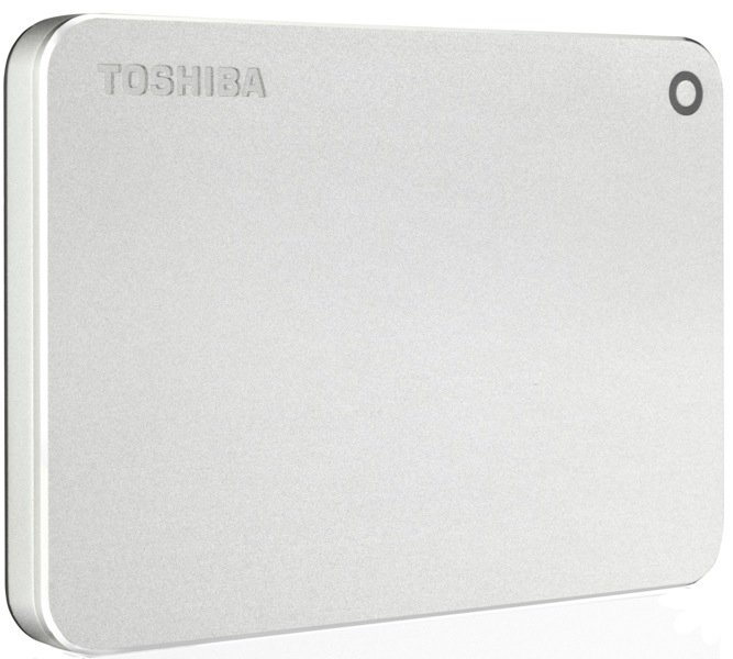 Внешний HDD Toshiba Canvio Premium for Mac 1Tb Silver (HDTW110ECMAA)