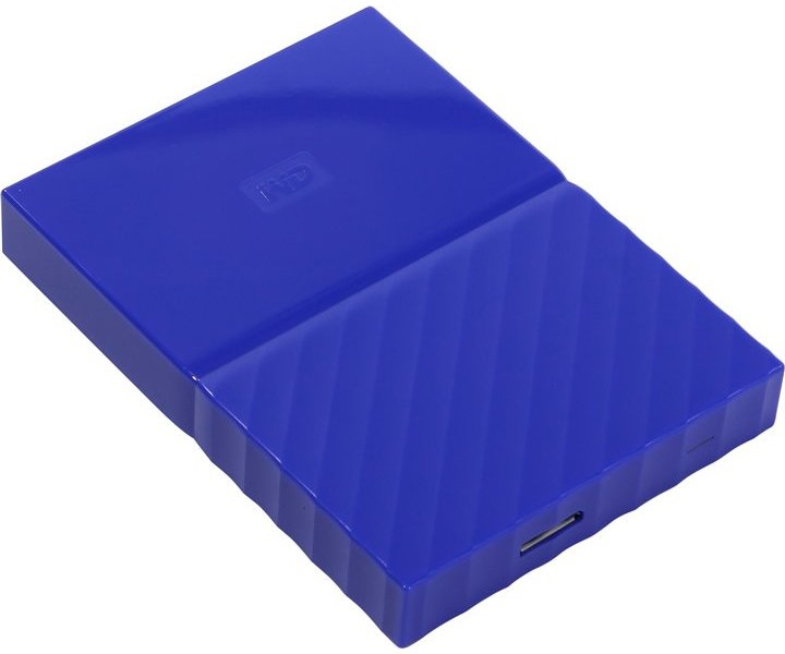 Внешний HDD WD My Passport 1Tb Blue (WDBBEX0010BBL-EEUE)