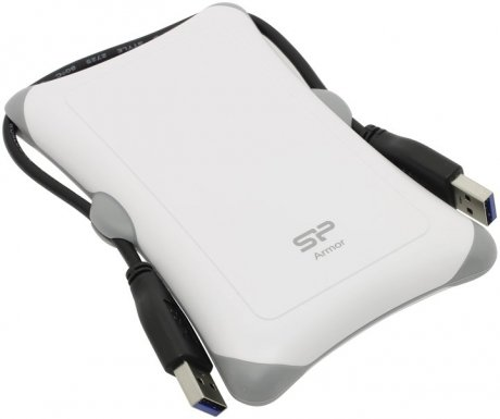 Фотография товара внешний HDD Silicon Power Armor A30 500Gb White (SP500GBPHDA30S3W) (148265)