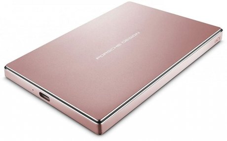 Фотография товара внешний HDD LaCie Porsche Design Mobile Drive 2Tb Rose Gold (STFD2000406) (148268)