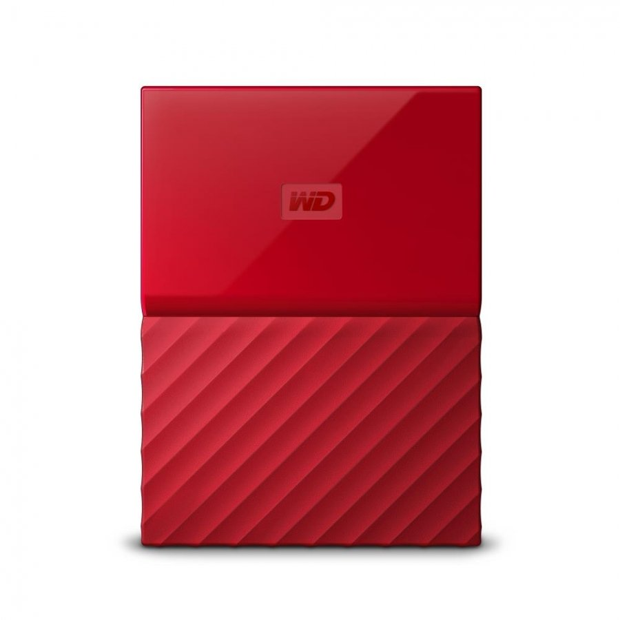 Внешний HDD WD My Passport 1Tb Red (WDBBEX0010BRD-EEUE)