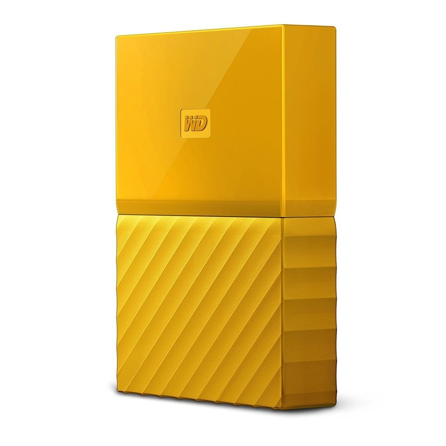 Внешний HDD WD My Passport 4Tb Yellow (WDBUAX0040BYL-EEUE)