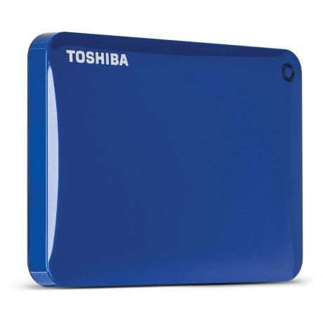Фотография товара внешний HDD Toshiba Canvio Connect II 3Tb Blue (HDTC830EL3CA) (148308)
