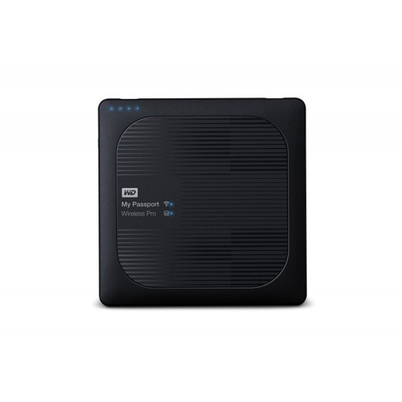 Внешний HDD WD My Passport Wireless Pro 4Tb (WDBSMT0040BBK-RESN)
