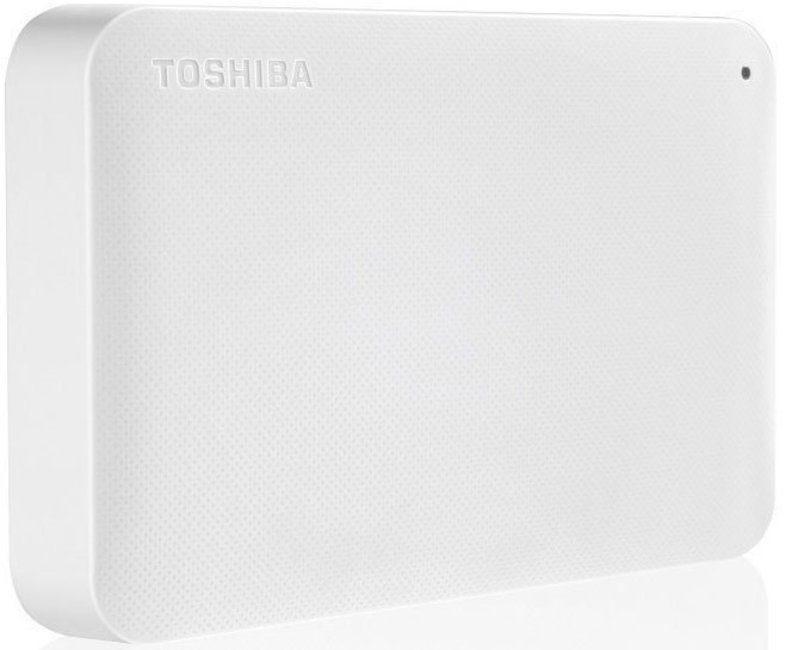 Внешний HDD Toshiba Canvio Ready 3Tb White (HDTP230EW3CA)