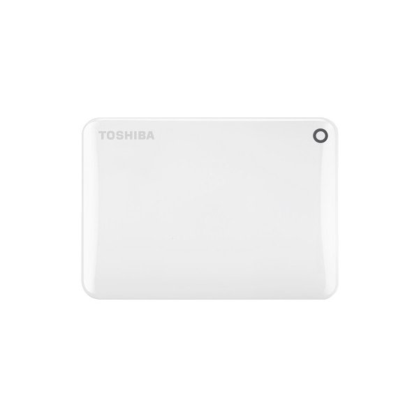 Внешний HDD Toshiba Canvio Connect II 1Tb White (HDTC810EW3AA)