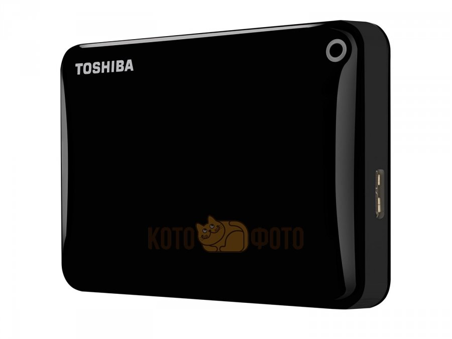 Внешний HDD Toshiba Canvio Connect II 1Tb Black (HDTC810EK3AA)