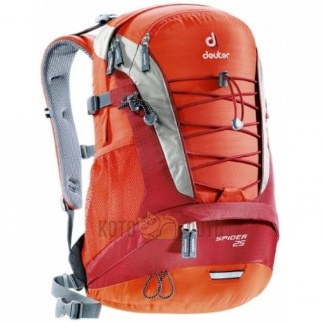 Рюкзак Deuter Daypacks Spider 25 Papaya-Lava (Б/Р:Uni) рюкзак deuter daypacks giga aubergine check б р uni