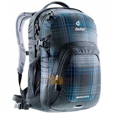 Рюкзак Deuter Daypacks Graduate Blueline Check рюкзак deuter daypacks giga pro black