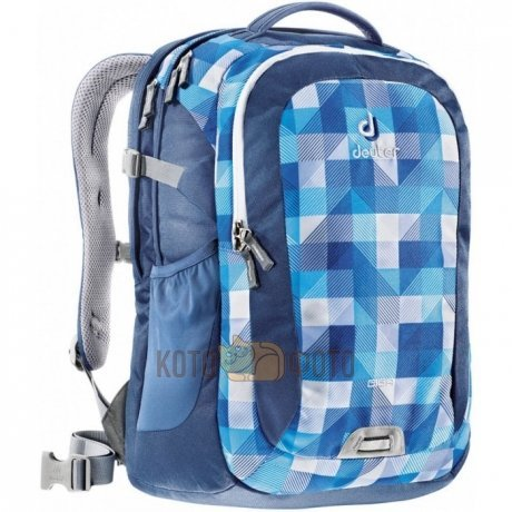 Рюкзак Deuter Daypacks Giga Blue Arrowcheck рюкзак городской deuter daypacks giga 28 blue arrowcheck