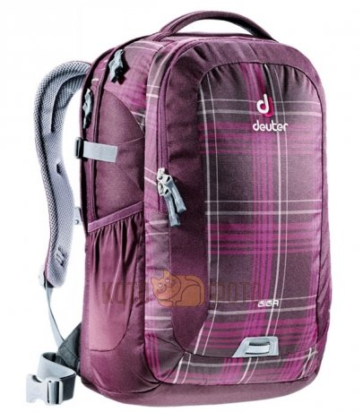 Рюкзак Deuter Daypacks Giga Aubergine Check (Б/Р:Uni) рюкзак городской deuter daypacks giga 28 blue arrowcheck