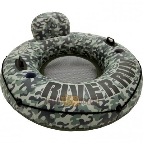 Шезлонг Intex 58835 Camo River Run I