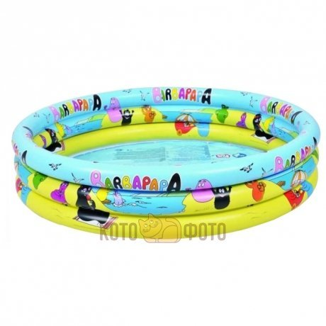 Бассейн Jilong Jl017378Npf Barbapapa 3 Ring Pool 99Cm Детский 99Х23