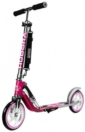 Фотография товара самокат Hudora Big Wheel 205 NEW magenta (фиолетовый) (107813)