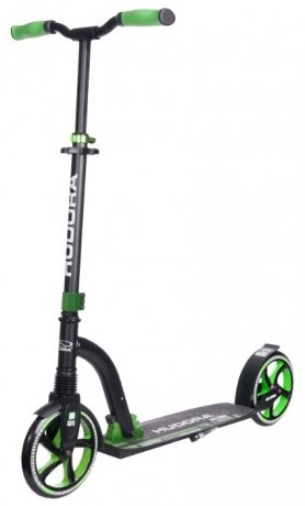 Фотография товара самокат Hudora Big Wheel Flex 200 New Green (148588)