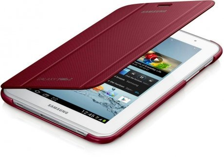 Samsung Book Cover for Galaxy Tab3 8.0 (Red) чехол для galaxy tab3 7 0 samsung book cover серый