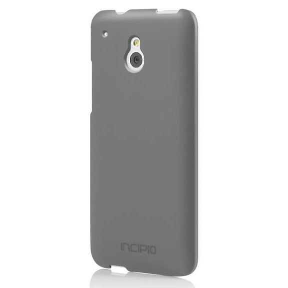 Чехол Incipio для HTC One mini Feather Charcoal Gray (HT-374) все цены