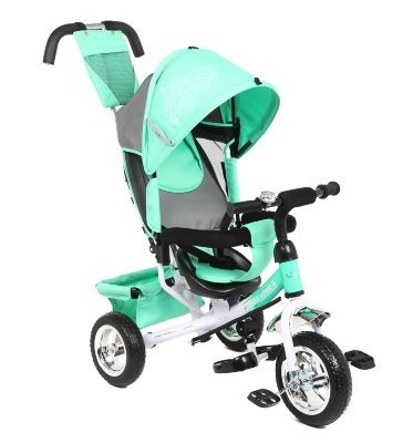 Велосипед 3-х колесный Capella Action Trike II mint (мятный) capella велосипед action trike ii с 18 мес