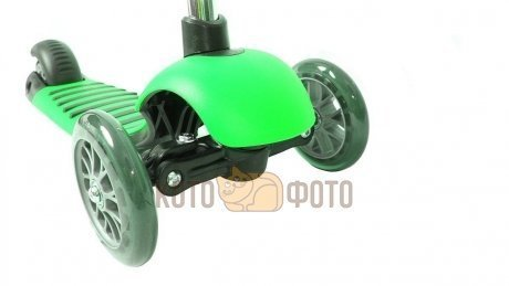 Самокат Y Bike glider de luxe mini green YBGG2